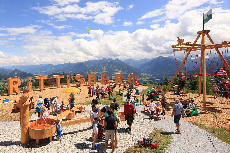 Familienurlaub im Sommer - B&B Landhaus Vierthaler in Filzmoos