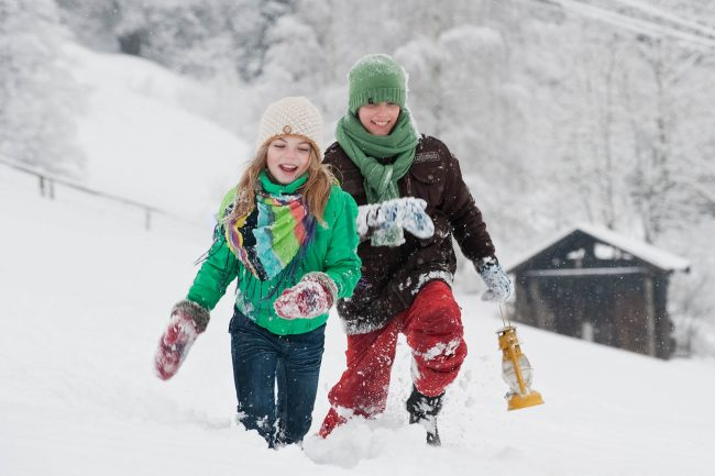 Winter Familienurlaub in Filzmoos - Landhaus Vierthaler