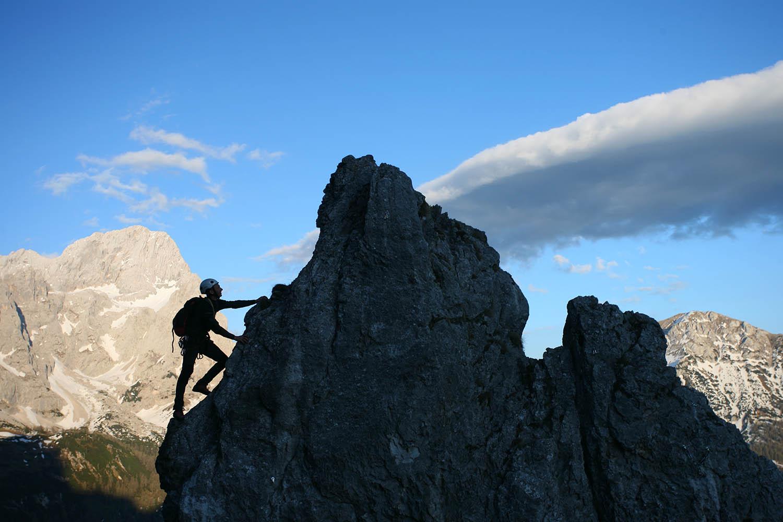 Klettern in Filzmoos, Sommerurlaub im Salzburger Land