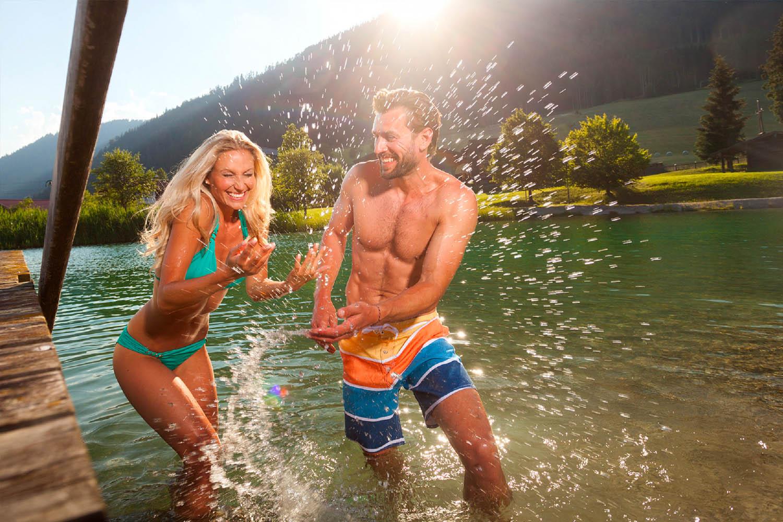 Schwimmen & Baden im Salzburger Land - Badeeseen rund um Filzmoos