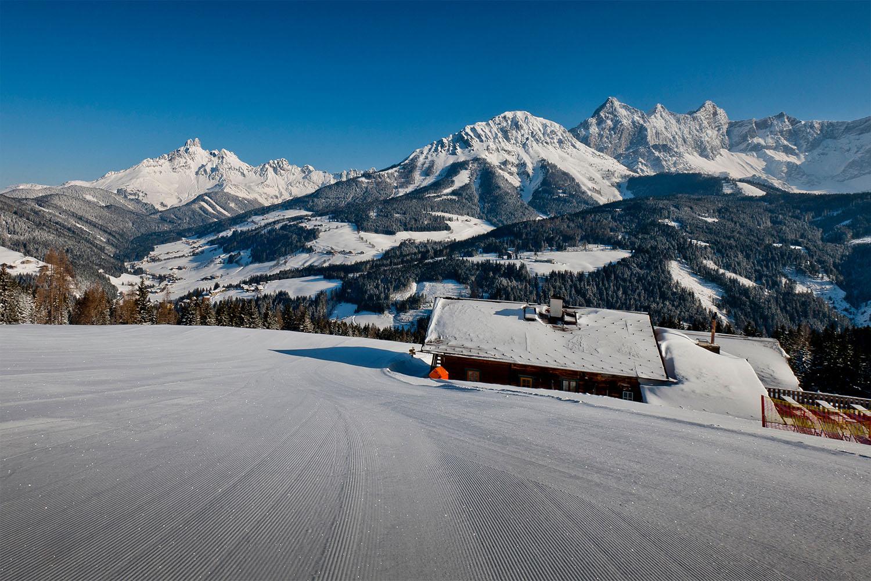 Skigebiet in Filzmoos, Salzburger Land