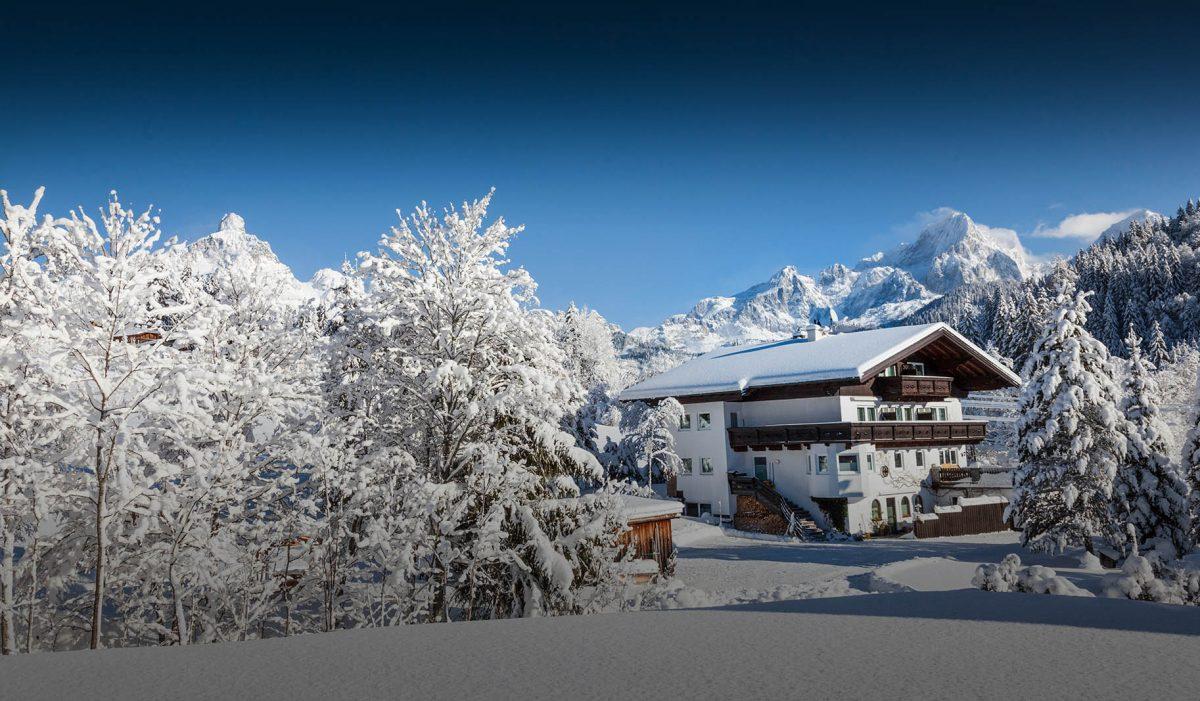 Winterurlaub in Filzmoos - Zimmer mit Frühstück - Pension Vierthaler