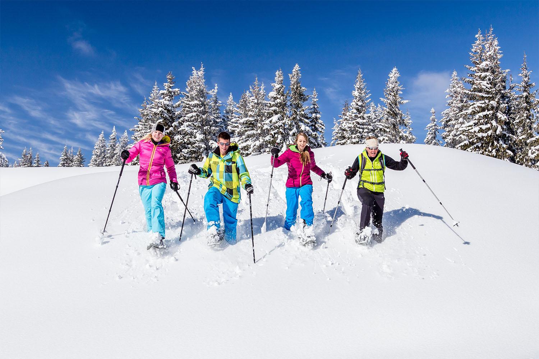 Winterwandern in Filzmoos, Salzburger Land